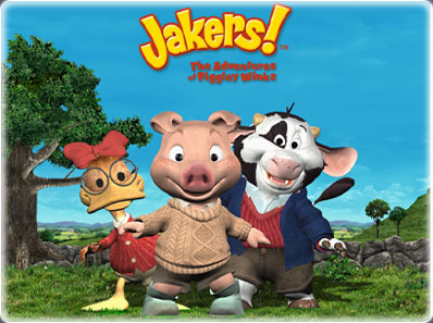 Discovery Kids Old Cartoons >> Jakers! The Adventures of Piggley Winks | Toonfind cartoon database